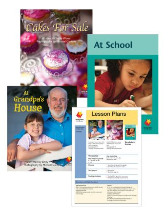 At Grandpa's House / Cakes for Sale / At School Vocabulary Starter