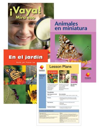 En el jardín / ¡Vaya! Mira eso / Animales en miniatura Vocabulary Starter