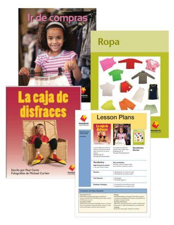 La caja de disfraces / Ir de compras / Ropa Vocabulary Starter