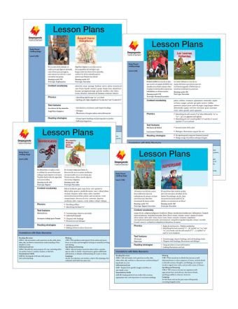 Early Fluent Lesson Plan Add-On Set