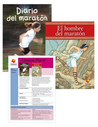 Diario del maratón / El hombre del maratón