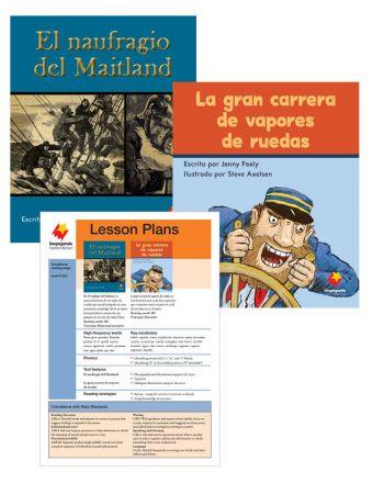 El naufragio del Maitland / La gran carrera de botes a pedal