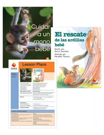 Cuidar a un mono bebé / El rescate de la ardillas bebé