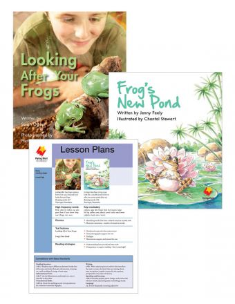Looking After Your Frogs / Frog's New Pond