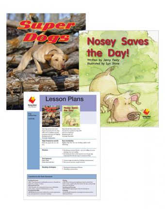 Super Dogs / Nosey Saves the Day!