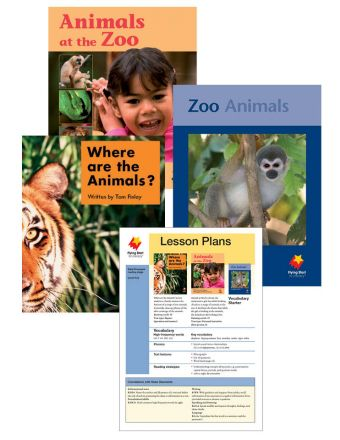 Where Are the Animals? / Animals at the Zoo / Zoo Animals Vocabulary Starter