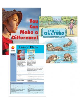 You Can Make a Difference! / Save the Sea Otters!