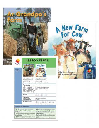 At Grandpa's Farm / A New Farm for Cow
