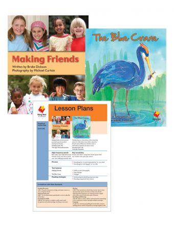 Making Friends / The Blue Crane