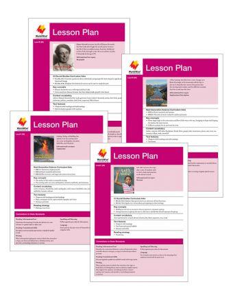 Fluent Add On Lesson Plan Set