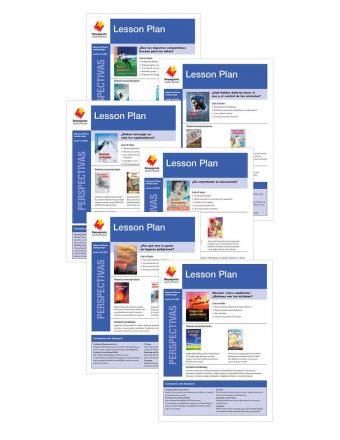 Advanced Fluent Q-S Lesson Plan Add-On Set (Perspectivas)