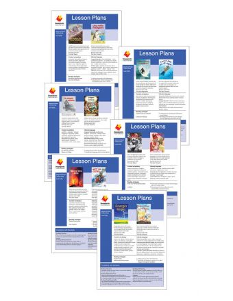 Advanced Fluent Q-S Lesson Plan Add-On Set (Paired Texts)