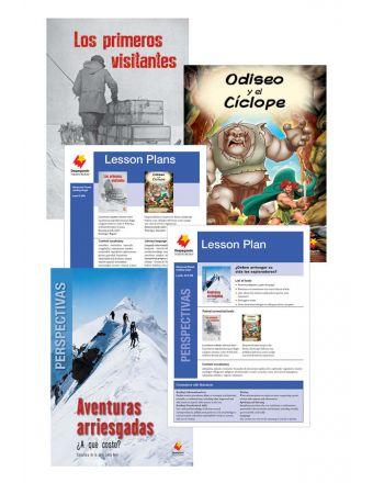 Los primeros visitantes / Odiseo y el Cíclope / Aventuras arriesgadas