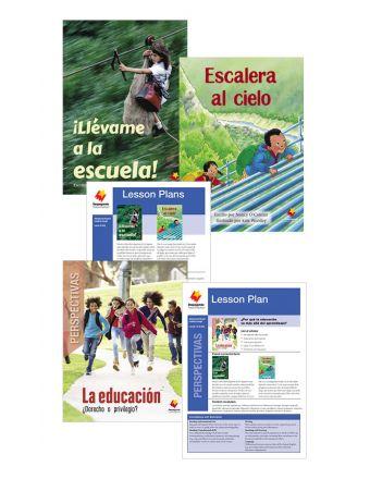 ¡Llévame a la escuela! / Escalera al cielo /  La educación: ¿Derecho o privilegio?
