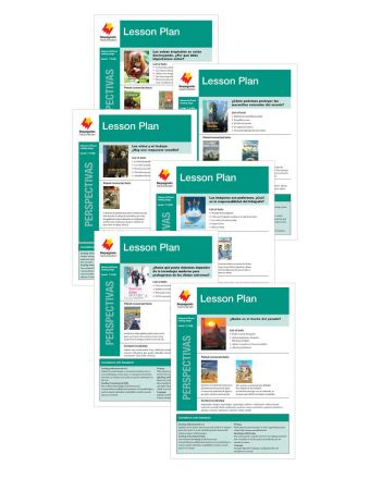 Advanced Fluent T-V Lesson Plan Add-On Set (Perspectivas)