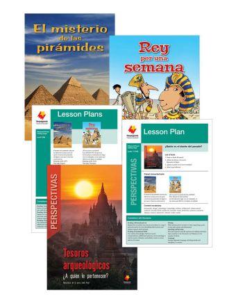 El misterio de las pirámides / Rey por una semana / Tesoros arqueológicos