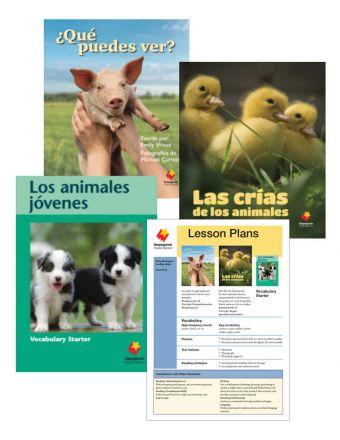 Las crías de los animales / ¿Qué puedes ver? / Los animales jóvenes Vocabulary Starter