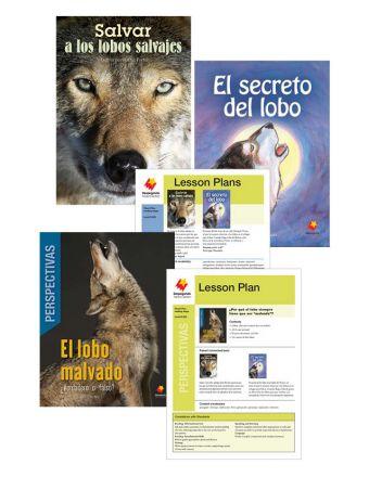 Salvar a los lobos salvajes / El secreto del lobo / El lobo malvado