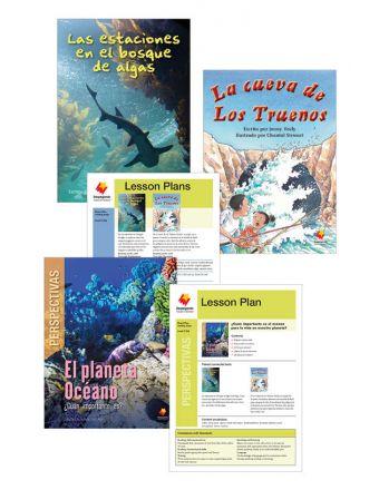 Las estaciones en el bosque de algas / La cueva de Los Truenos / El Planeta Océano