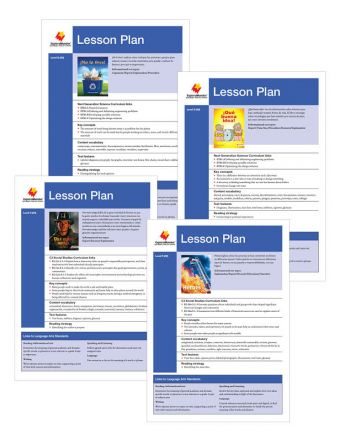 Advanced Fluent Q-S Lesson Plan Set
