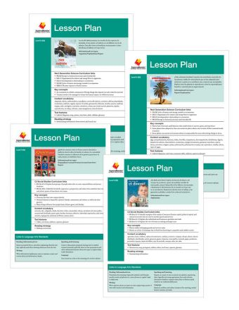 Advanced Fluent T-V Lesson Plan Add On Set