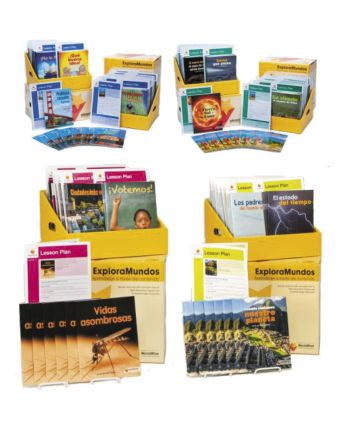 ExploraMundos Levels K-V (20-50) Boxed Classroom Set