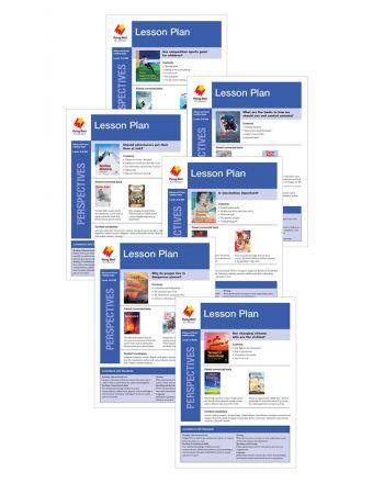 Advanced Fluent Q-S Lesson Plan Add-On Set (Perspectives)