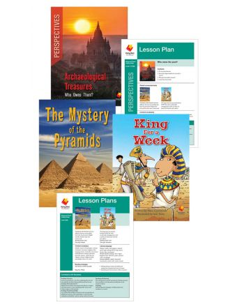 The Mystery of the Pyramids / King for a Week / Archaeological Treasures: Who Owns Them?