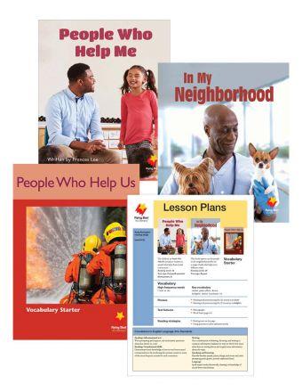 In My Neighborhood / People Who Help Me / People Who Help Us Vocabulary Starter