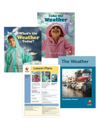 What's the Weather Today? / I Like the Weather / Weather Vocabulary Starter