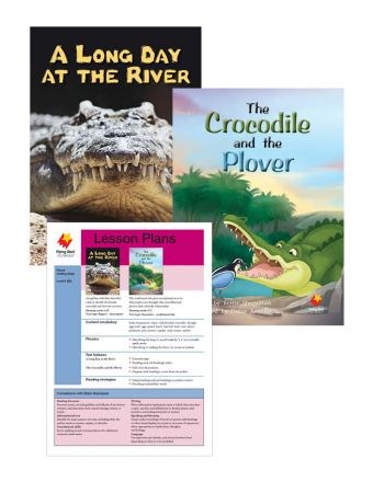 A Long Day at the River / The Crocodile and the Plover