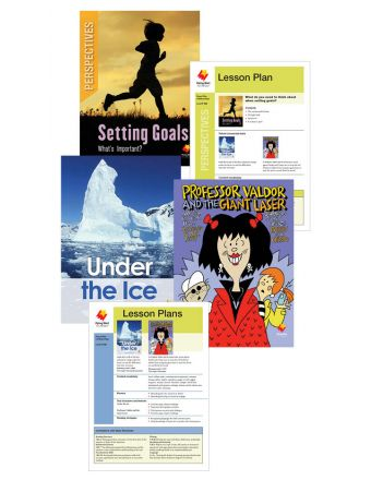 Under the Ice / Professor Valdor and the Giant Laser / Setting Goals: What's Important?