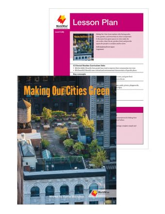Making Our Cities Green