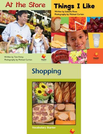 At the Store / Things I Like / Shopping Vocabulary Starter
