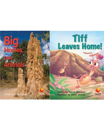 Big Homes, Little Animals / Tiff Leaves Home!