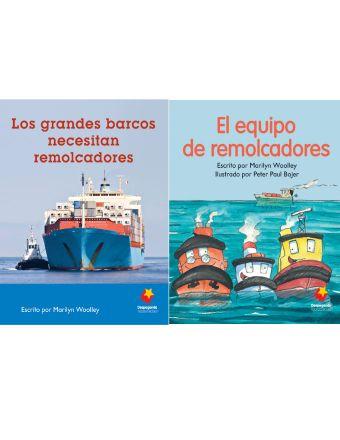 Los grandes barcos necesitan remolcadores / El equipo de remolcadores