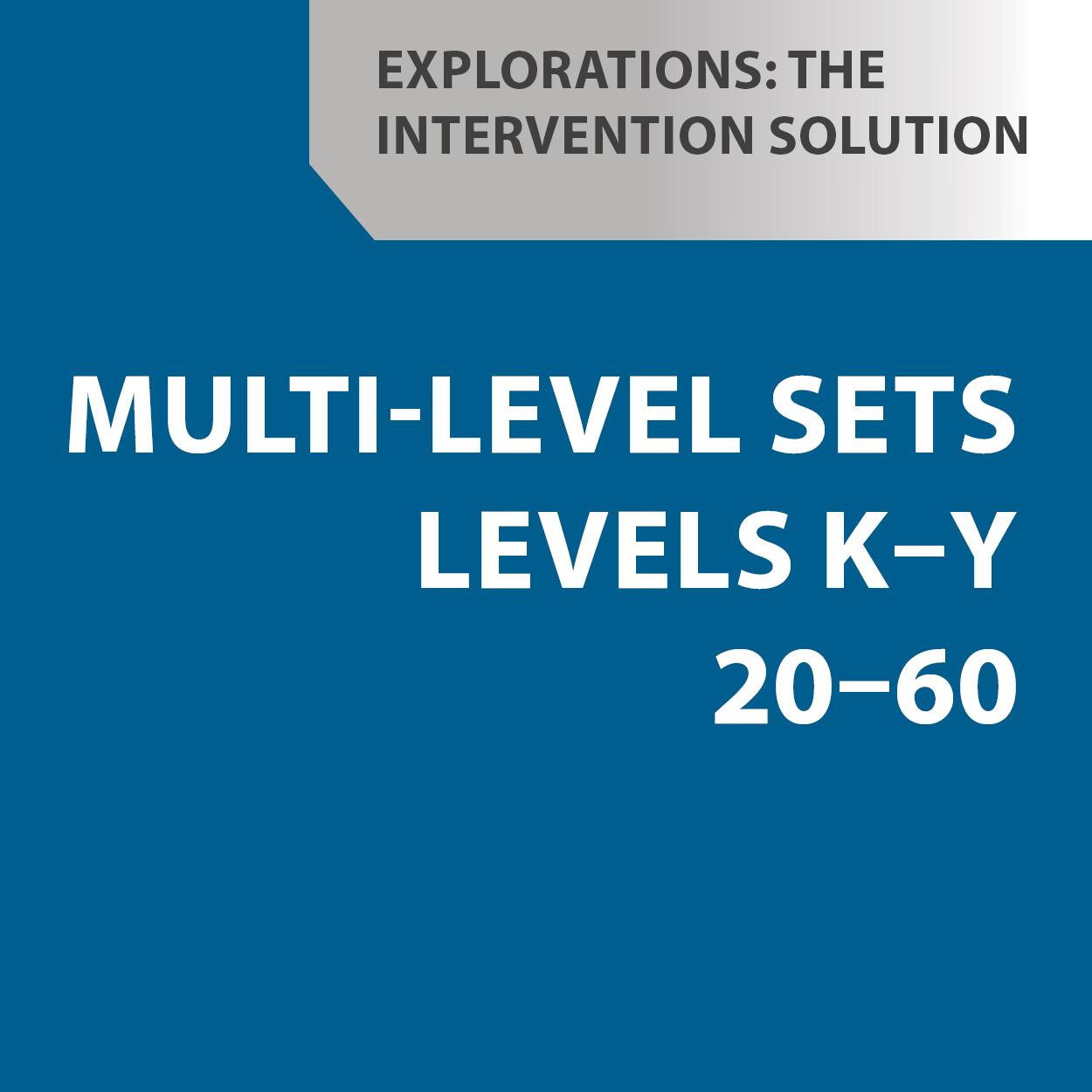 Multi-Level Sets