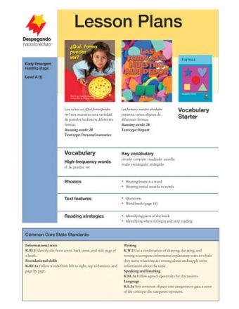 Early Emergent Lesson Plan Add-On Set