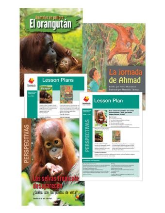 Animales en peligro: El orangután / La jornada de Ahmad / Las selvas tropicales desaparecen