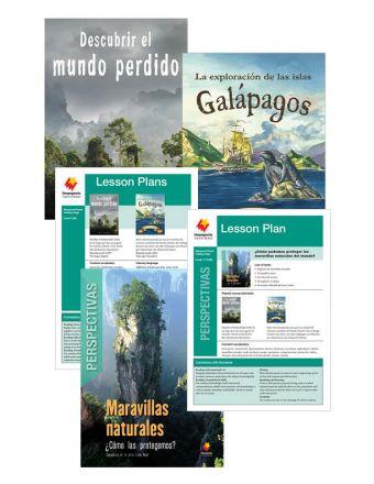 Descubrir el mundo perdido / La exploración de las Islas Galapagos / Maravillas naturales