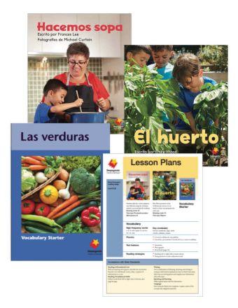 Hacemos sopa / El huerto / Las verduras Vocabulary Starter