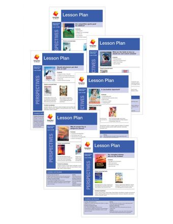 Advanced Fluent Q-S Lesson Plan Add-On Set (Perspectives)