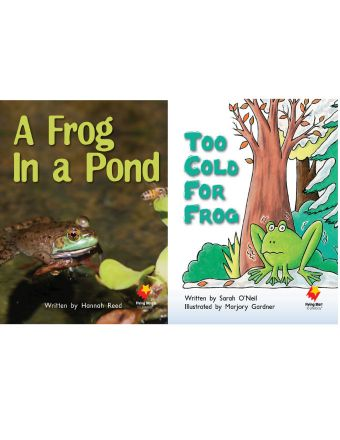 A Frog in a Pond / Too Cold for Frog