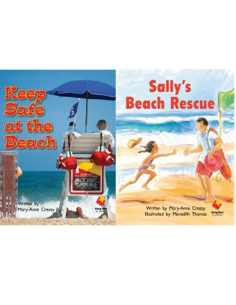Keep Safe at the Beach / Sally's Beach Rescue