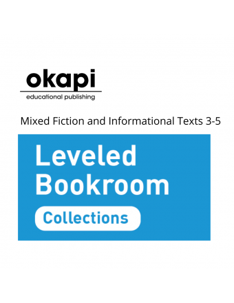 Leveled Bookroom Collections: Mixed Fiction and Informational Texts 3-5