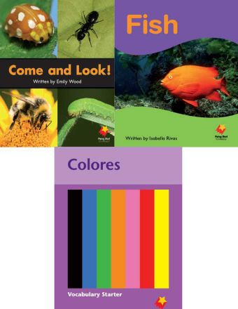 Come and Look! / Fish / Colors Vocabulary Starter