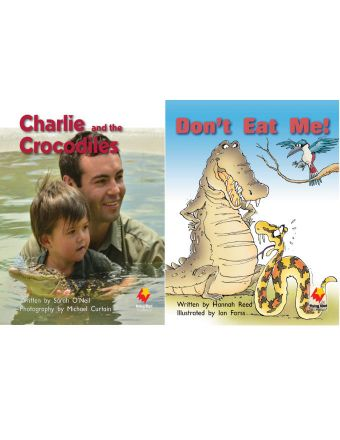 Charlie and the Crocodiles / Don't Eat Me!