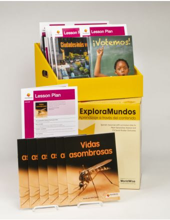 ExploraMundos Levels K-M (20-28) Boxed Classroom Set