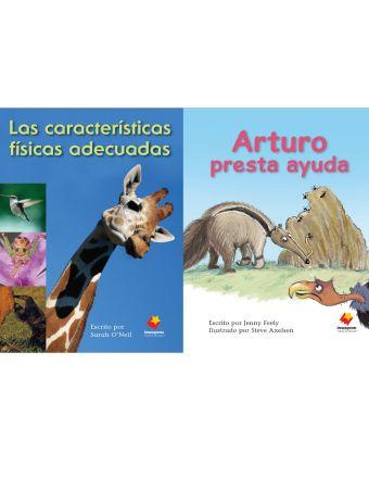 Las características físicas adecuadas / Arturo presta ayuda