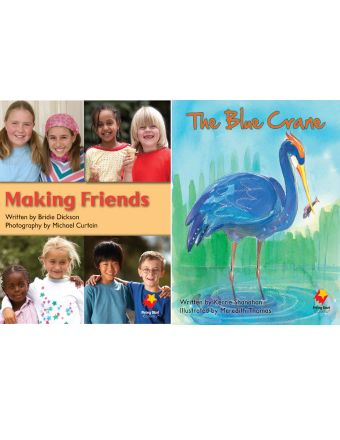 Making Friends / The Blue Crane